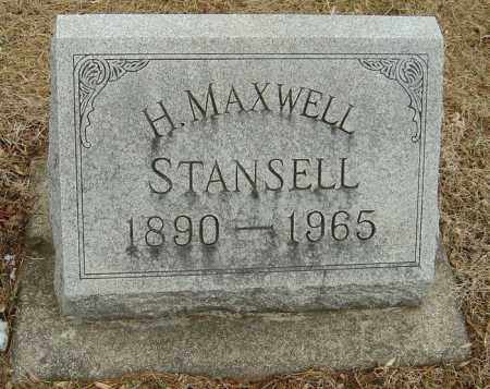 STANSELL, HARRY MAXWELL - Montgomery County, Ohio | HARRY MAXWELL STANSELL - Ohio Gravestone Photos