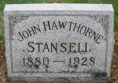 STANSELL, JOHN HAWTHORNE - Montgomery County, Ohio | JOHN HAWTHORNE STANSELL - Ohio Gravestone Photos