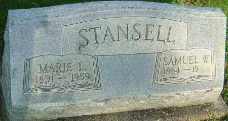 STANSELL, MARIE L - Montgomery County, Ohio | MARIE L STANSELL - Ohio Gravestone Photos