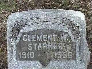 STARNER, CLEMENT W. - Montgomery County, Ohio | CLEMENT W. STARNER - Ohio Gravestone Photos
