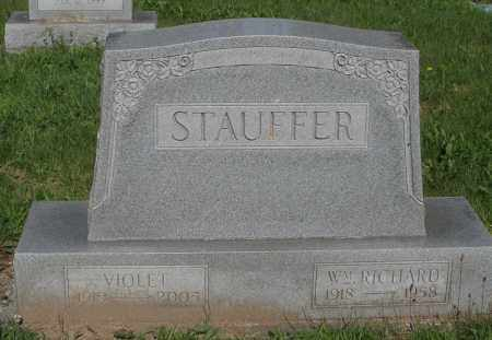 STAUFFER, WM. RICHARD - Montgomery County, Ohio | WM. RICHARD STAUFFER - Ohio Gravestone Photos