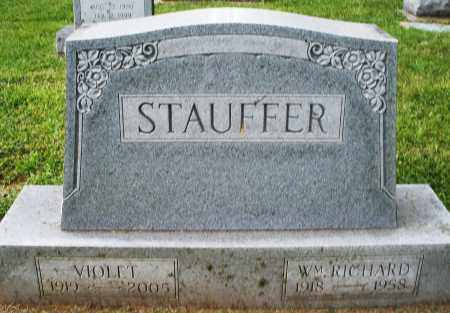 STAUFFER, WILLIAM RICHARD - Montgomery County, Ohio | WILLIAM RICHARD STAUFFER - Ohio Gravestone Photos