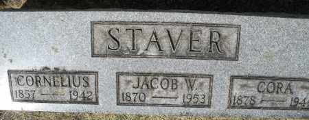 STAVER, JACOB W. - Montgomery County, Ohio | JACOB W. STAVER - Ohio Gravestone Photos