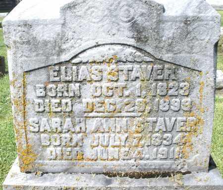 STAVER, ELIAS - Montgomery County, Ohio | ELIAS STAVER - Ohio Gravestone Photos