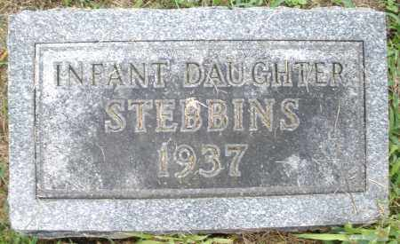 STEBBINS, INFANT DAUGHTER - Montgomery County, Ohio | INFANT DAUGHTER STEBBINS - Ohio Gravestone Photos