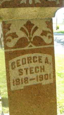 STECH, GEORGE A. - Montgomery County, Ohio   GEORGE A. STECH - Ohio Gravestone Photos