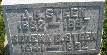 STEEN, J.B. - Montgomery County, Ohio | J.B. STEEN - Ohio Gravestone Photos