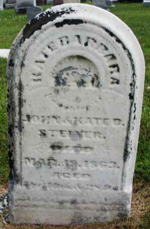 STEINER, KATE BARBARA - Montgomery County, Ohio | KATE BARBARA STEINER - Ohio Gravestone Photos