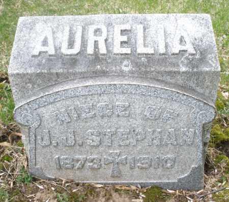STEPHAN, AURELIA - Montgomery County, Ohio | AURELIA STEPHAN - Ohio Gravestone Photos