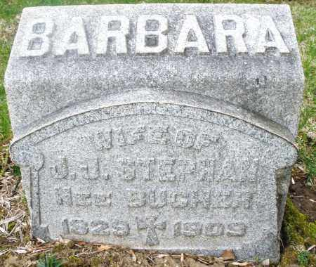 STEPHAN, BARBARA - Montgomery County, Ohio | BARBARA STEPHAN - Ohio Gravestone Photos