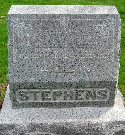 WILSON STEPHENS, REBECCA - Montgomery County, Ohio | REBECCA WILSON STEPHENS - Ohio Gravestone Photos
