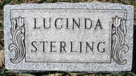STERLING, LUCINDA - Montgomery County, Ohio | LUCINDA STERLING - Ohio Gravestone Photos