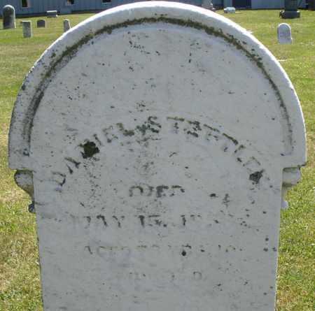 STETTLER, DANIEL - Montgomery County, Ohio | DANIEL STETTLER - Ohio Gravestone Photos