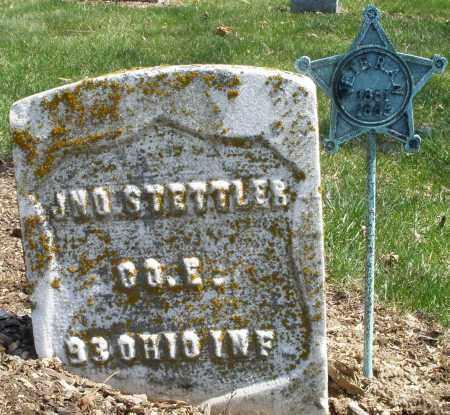 STETTLER, JOHN - Montgomery County, Ohio | JOHN STETTLER - Ohio Gravestone Photos
