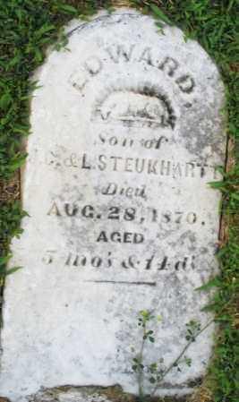 STEUKHARTT, EDWARD - Montgomery County, Ohio | EDWARD STEUKHARTT - Ohio Gravestone Photos
