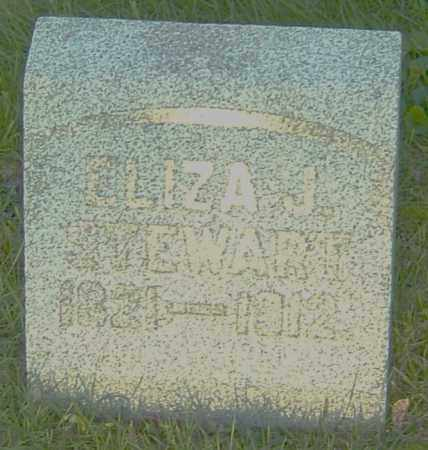 BRADFORD STEWART, ELIZA J - Montgomery County, Ohio | ELIZA J BRADFORD STEWART - Ohio Gravestone Photos
