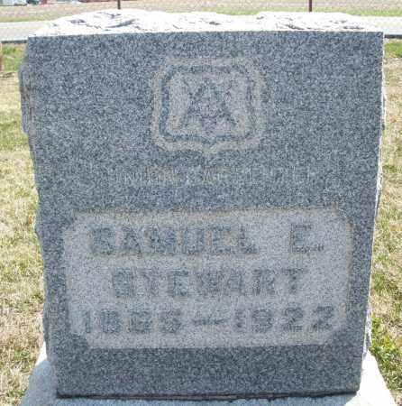 STEWART, SAMUEL E. - Montgomery County, Ohio | SAMUEL E. STEWART - Ohio Gravestone Photos