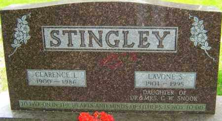 STINGLEY, CLARENCE L - Montgomery County, Ohio | CLARENCE L STINGLEY - Ohio Gravestone Photos