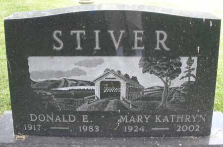 STIVER, MARY KATHRYN - Montgomery County, Ohio | MARY KATHRYN STIVER - Ohio Gravestone Photos