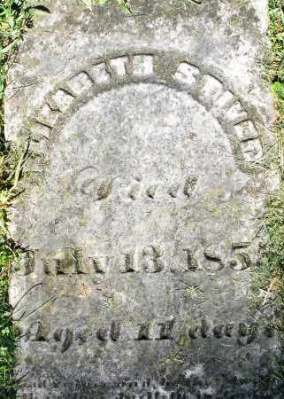 STIVER, ELIZABETH - Montgomery County, Ohio | ELIZABETH STIVER - Ohio Gravestone Photos