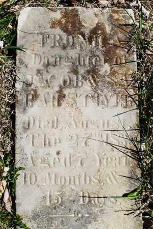 STIVER, FRONIA ? - Montgomery County, Ohio | FRONIA ? STIVER - Ohio Gravestone Photos