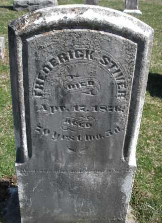 STIVER, FREDERICK - Montgomery County, Ohio | FREDERICK STIVER - Ohio Gravestone Photos