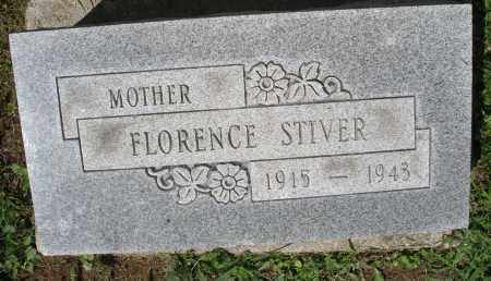 STIVER, FLORENCE - Montgomery County, Ohio | FLORENCE STIVER - Ohio Gravestone Photos