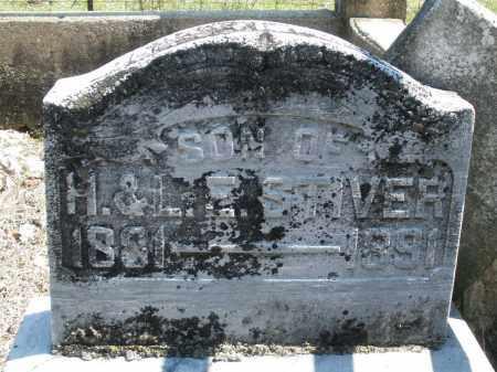 STIVER, INFANT SON - Montgomery County, Ohio   INFANT SON STIVER - Ohio Gravestone Photos