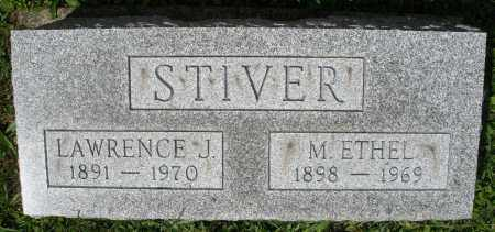 STIVER, LAWRENCE J. - Montgomery County, Ohio | LAWRENCE J. STIVER - Ohio Gravestone Photos