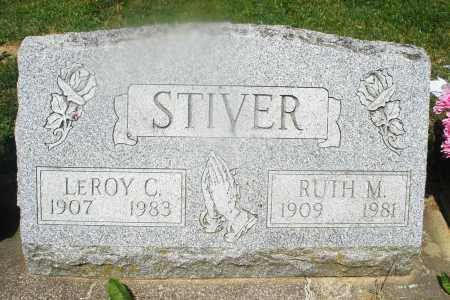 STIVER, LEROY C. - Montgomery County, Ohio | LEROY C. STIVER - Ohio Gravestone Photos