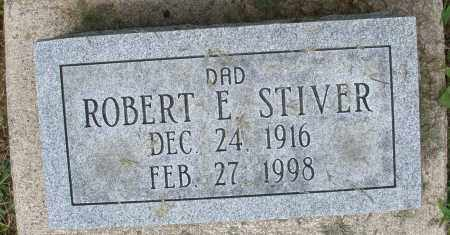 STIVER, ROBERT E. - Montgomery County, Ohio | ROBERT E. STIVER - Ohio Gravestone Photos