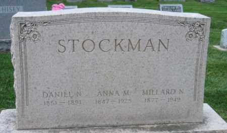STOCKMAN, ANNA M - Montgomery County, Ohio | ANNA M STOCKMAN - Ohio Gravestone Photos