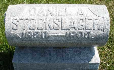 STOCKSLAGER, DANIEL A. - Montgomery County, Ohio | DANIEL A. STOCKSLAGER - Ohio Gravestone Photos