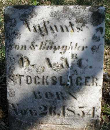 STOCKSLAGER, INFANT DAUGHTER - Montgomery County, Ohio | INFANT DAUGHTER STOCKSLAGER - Ohio Gravestone Photos
