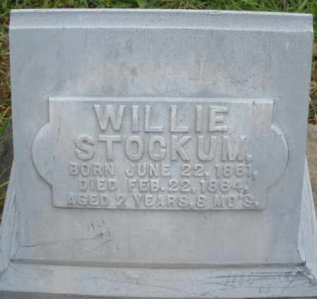 STOCKUM, WILLIE - Montgomery County, Ohio | WILLIE STOCKUM - Ohio Gravestone Photos