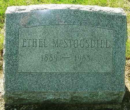 HEGLIN STOGSDILL, ETHEL MAUDE - Montgomery County, Ohio | ETHEL MAUDE HEGLIN STOGSDILL - Ohio Gravestone Photos