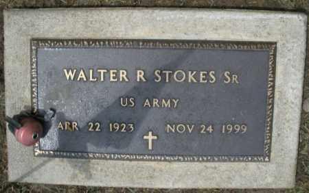 STOKES, WALTER R. SR. - Montgomery County, Ohio | WALTER R. SR. STOKES - Ohio Gravestone Photos