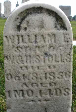 STOLLS, WILLIAM E. - Montgomery County, Ohio | WILLIAM E. STOLLS - Ohio Gravestone Photos