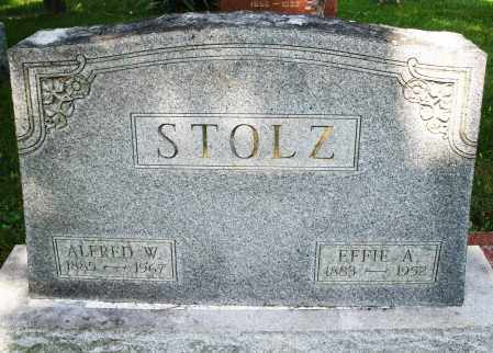 STOLZ, EFFIE A. - Montgomery County, Ohio | EFFIE A. STOLZ - Ohio Gravestone Photos