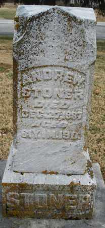 STONER, ANDREW - Montgomery County, Ohio | ANDREW STONER - Ohio Gravestone Photos