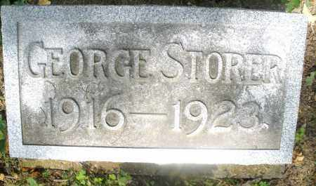 STORER, GEORGE - Montgomery County, Ohio | GEORGE STORER - Ohio Gravestone Photos