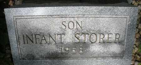 STORER, INFANT SON - Montgomery County, Ohio | INFANT SON STORER - Ohio Gravestone Photos