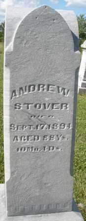 STOVER, ANDREW - Montgomery County, Ohio | ANDREW STOVER - Ohio Gravestone Photos