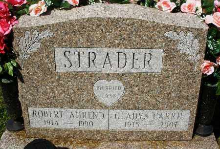 STRADER, GLADYS CARRIE - Montgomery County, Ohio | GLADYS CARRIE STRADER - Ohio Gravestone Photos