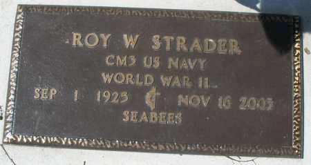 STRADER, ROY W. - Montgomery County, Ohio | ROY W. STRADER - Ohio Gravestone Photos