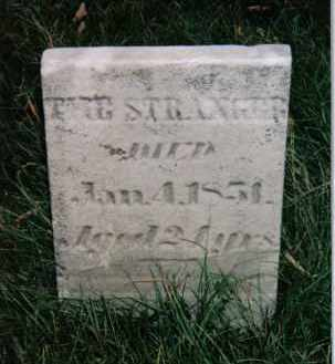 STRANGER, THE - Montgomery County, Ohio | THE STRANGER - Ohio Gravestone Photos