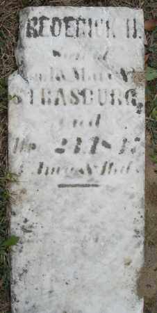 STRASBURG, FREDERICK H. - Montgomery County, Ohio | FREDERICK H. STRASBURG - Ohio Gravestone Photos
