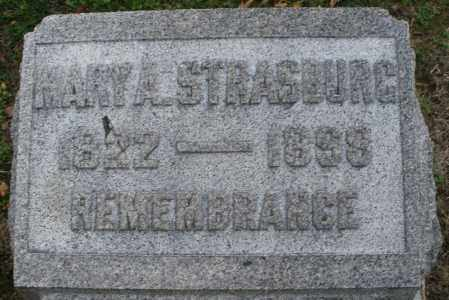 STRASBURG, MARY A. - Montgomery County, Ohio | MARY A. STRASBURG - Ohio Gravestone Photos
