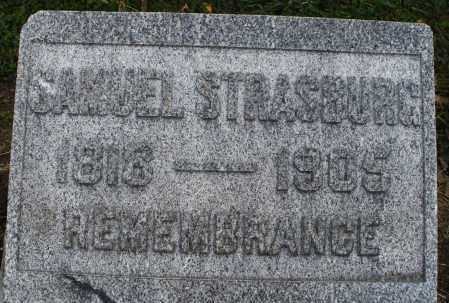 STRASBURG, SAMUEL - Montgomery County, Ohio | SAMUEL STRASBURG - Ohio Gravestone Photos