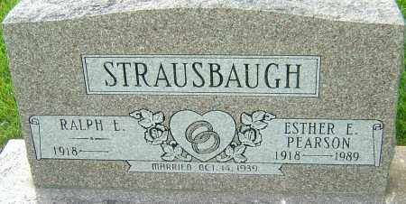 PEARSON STRAUSBAUGH, ESTHER E - Montgomery County, Ohio | ESTHER E PEARSON STRAUSBAUGH - Ohio Gravestone Photos